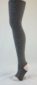 Horizontal Ribbed / Banded Stockings