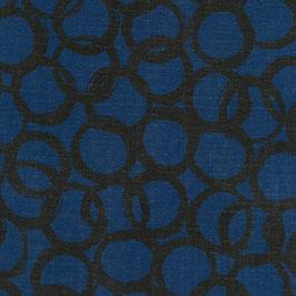 Double Gauze - Loops Blue (Ellen Baker)