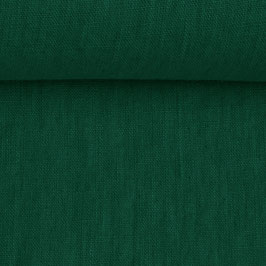 Linen washed - Bottle Green