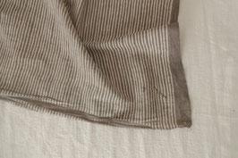 Indian Blockprint - Stripe Mud