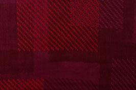 Double Gauze - Broken Plaid Red (Kokka)