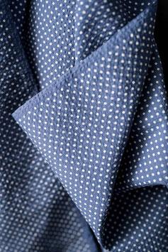 Cotton Seersucker - Moyo Blue (Merchant & Mills)