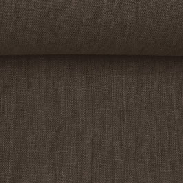 Linen washed - Chocolate