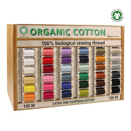 Bio Nähgarn - Farbe nach Wahl