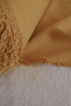 Raw Silk Noil - Sun