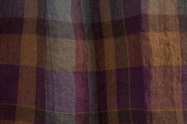 Linen washed - Colorful checks