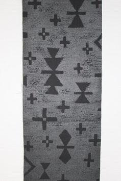 Canvas - Tsumiki Silver-Black (Kokka)