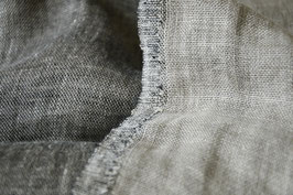 Linen double-sided washed - Salt'n'Pepper