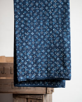 Indian Blockprint - Pond Life Indigo (Merchant & Mills)