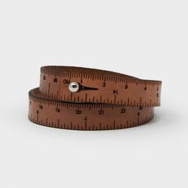 Wrist Ruler Brown