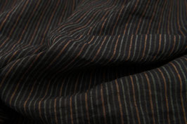 Linen washed - Earthy Stripes