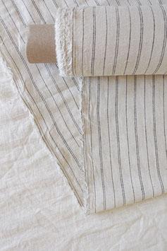 Hemp Woven - Bone Two Stripe