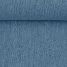 Linen washed - Mountain Blue