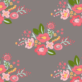Bio Baumwolle - Bloom Posie (Monaluna)