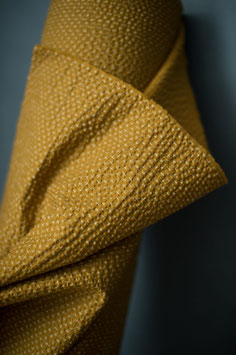 Cotton Seersucker - Tottorri Cross Mustard (Merchant & Mills)