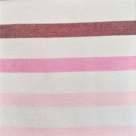 Chambray - Breton Stripes Rose (Amandine Cha)