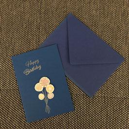 """Geburtstagskarte """"Blumenstrauss"""""""