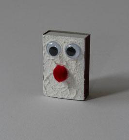 """Zündholzschachtel inkl. Zündhölzer """" Red Nose"""""""
