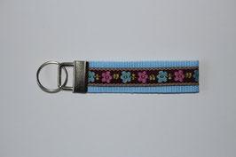 Schlüsselanhänger farbige Blümchen