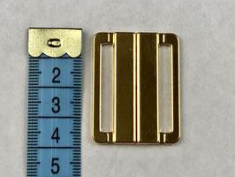 Bikini Verschluss gold 4.0 cm