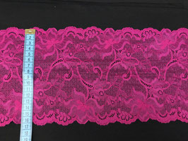 Spitze dehnbar fuchsia/pink