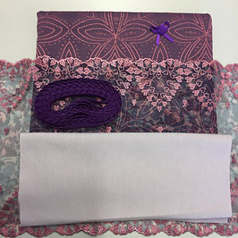 Slip Nähset violett/rosa