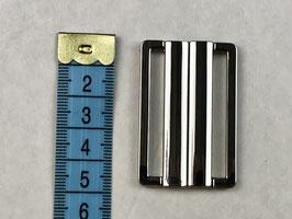 Bikini Verschluss silber 4.5cm
