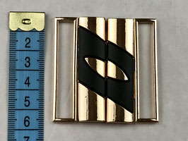 Bikini Verschluss gold 5.5cm