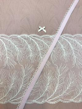 Slip-Nähset rosa/weiss