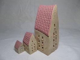 Schiefes Häuschen pink S M L