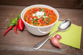 2 oder 4 Liter Vorrat Suppe der Woche