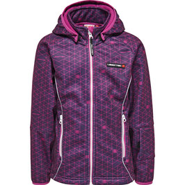 SADIE 771 - SOFTSHELLJACKE | DARK PURPLE
