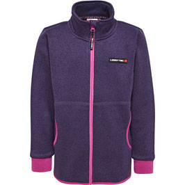 SAXTON 772 - FLEECEJACKE | DARK PURPLE