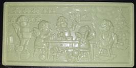"""Schoko Tafel """"Limette"""", Vollmilchschokolade, ca. 110g"""