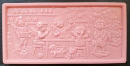"""Schoko Tafel """"Erdbeere"""", Vollmilchschokolade, ca. 110g"""