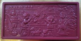 """Schoko Tafel """"Himbeere"""", Vollmilchschokolade, ca. 110g"""