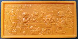 "Schoko Tafel ""Orange"", Vollmilchschokolade, ca. 110g"