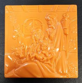 "Schoko Tafel ""Orange"", Vollmilchschokolade, ca. 60g"