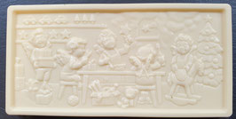 Schoko Tafel, weisse Schokolade, ca. 110g