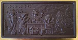 Schoko Tafel, Grenzbitter Schokolade 90%, ca. 110g, vegan & laktosefrei
