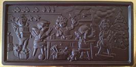 Schoko Tafel, zartbitter Schokolade 60%, ca. 110g, vegan & laktosefrei
