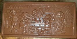 Schoko Tafel, Vollmilchschokolade, ca. 110g