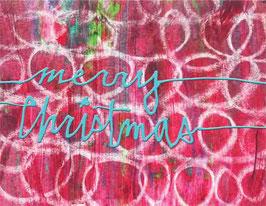 Merry Christmas Swirl Style