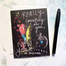 No Pressure New Year