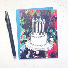 Carmen Miranda Cake