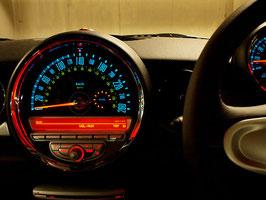 再:ミニマックス ゲージフェイス:モデル-MINIMAX :240km/h(R55/56)