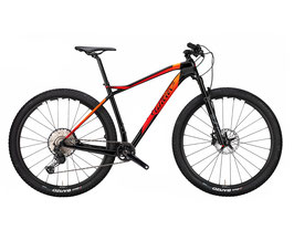 Wilier 101X BLACK, RED, ORANGE; GLOSSY