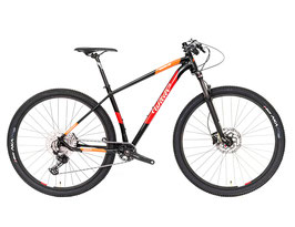 Wilier 503X COMP BLACK, RED, ORANGE; GLOSSY
