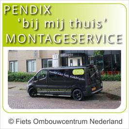 Pendix - bij mij thuis - montage service