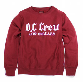 (ARCHIVE COLLECTION)O.C CREW BIG LOGO SWEAT
